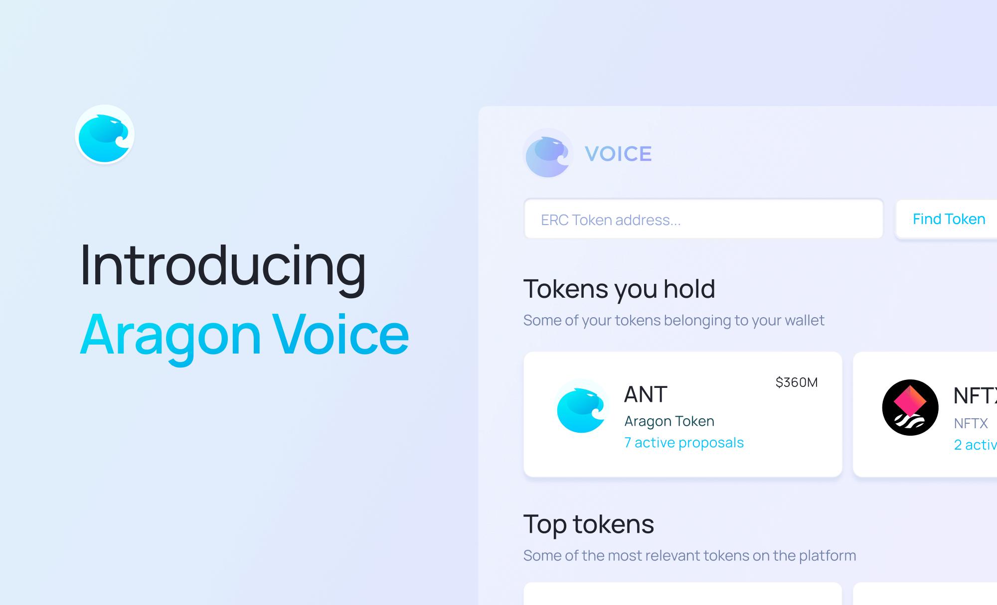 Introducing Aragon Voice