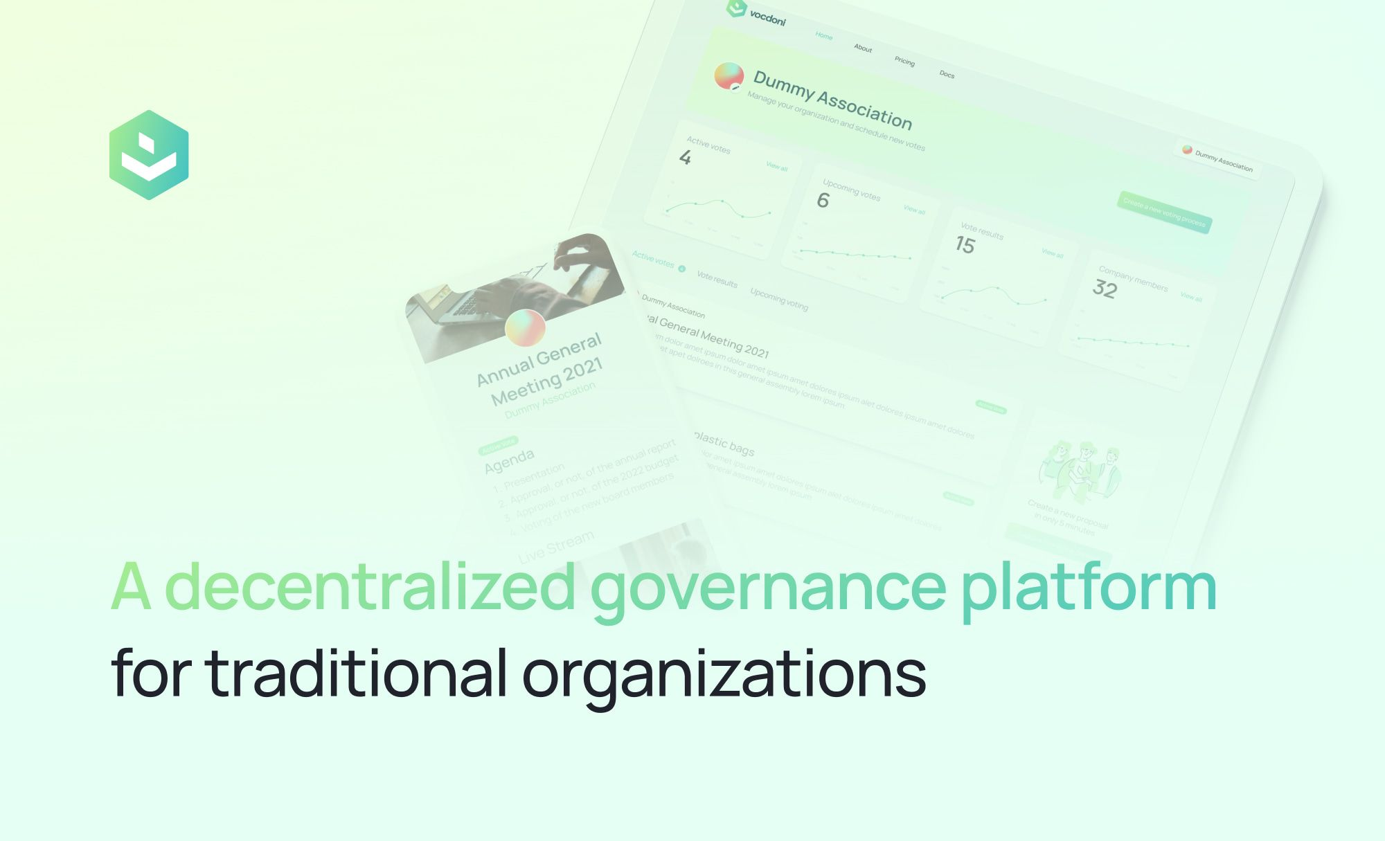 Introducing Vocdoni: a decentralized governance platform for traditional organizations