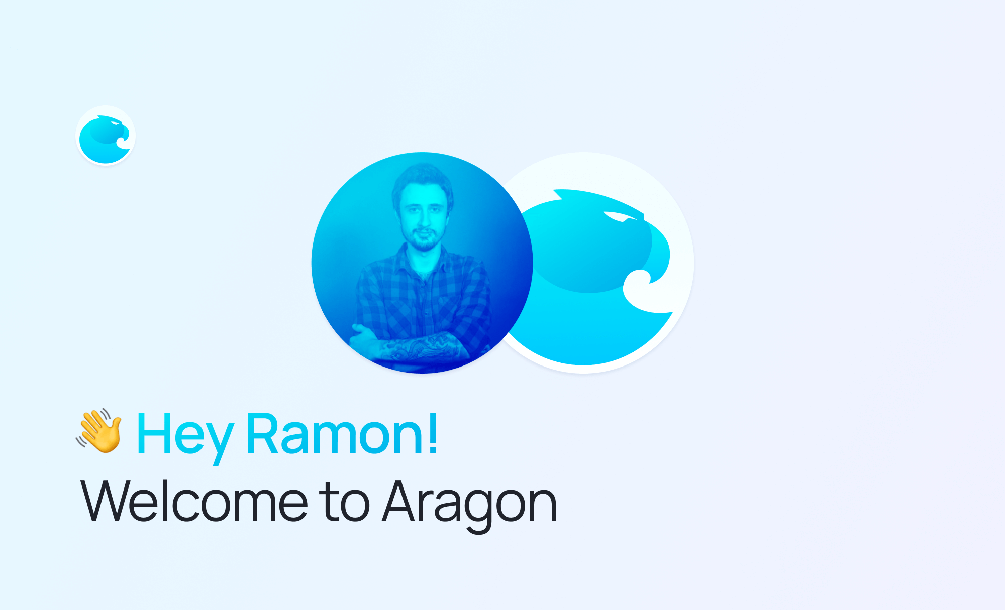 Welcome Ramon Canales Product Lead at the Aragon Association