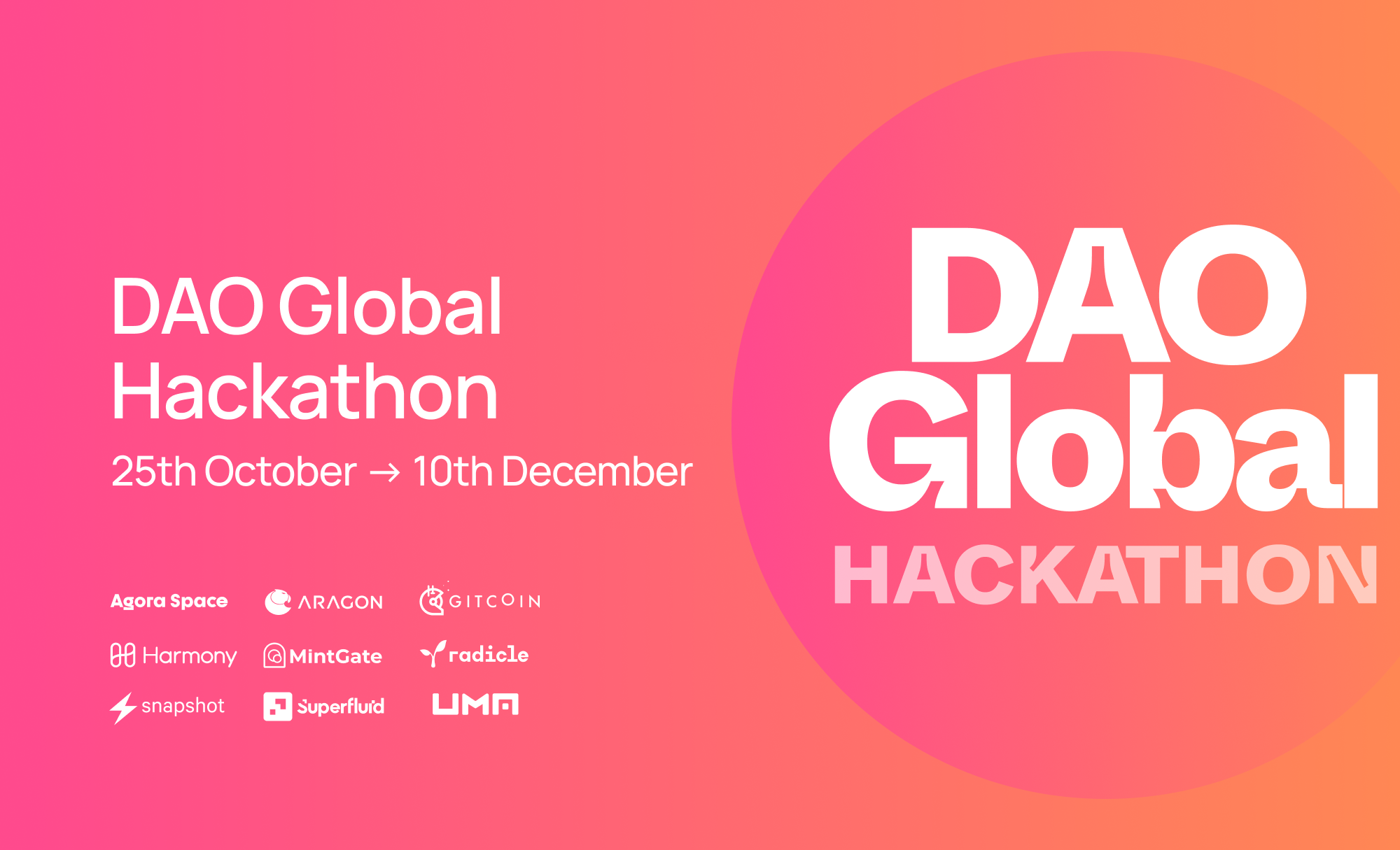 2021 DAO Global Hackathon