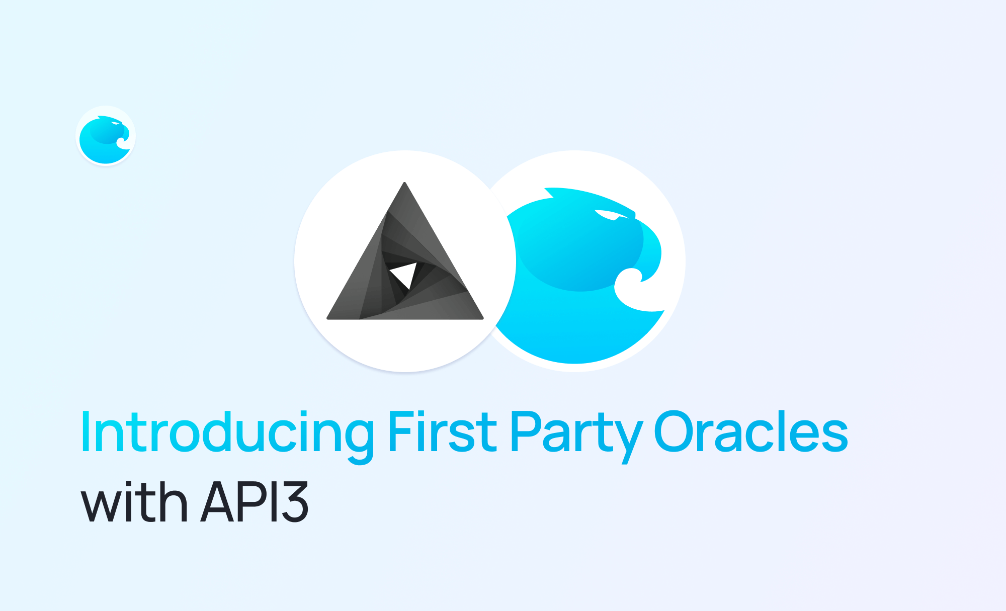 Introducing First Party Oracles with API3